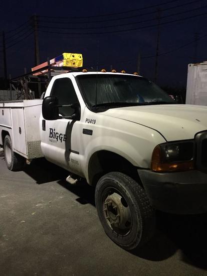 2000 Ford F450 XL Utility Truck (Unit #PU-419)