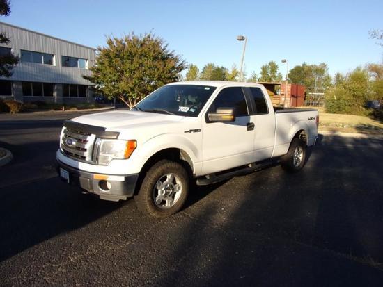 2011 Ford F150 XL 4X4 Ext. Cab Pickup Truck