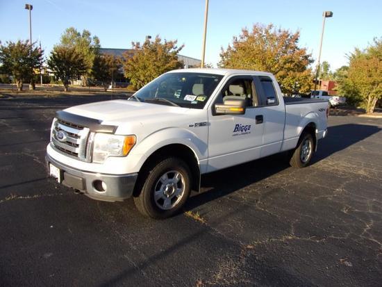 2011 Ford F150 XL 4X4 Crew Cab Pickup Truck