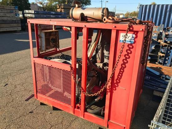 Hydraulic Pump Unit (Unit #HPU-001)