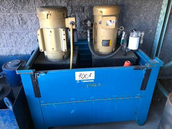 (2) Hydraulic Pumps