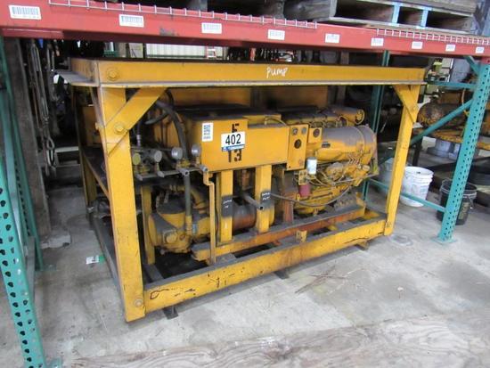 Homemade Hydraulic Pump