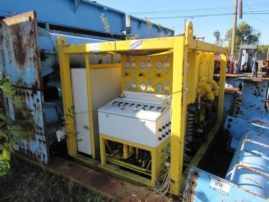 8 Hole Hydraulic Pump