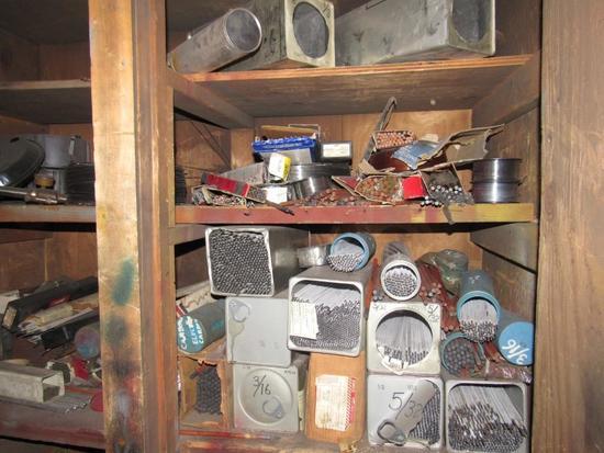 Closet Full Of Welding Rods