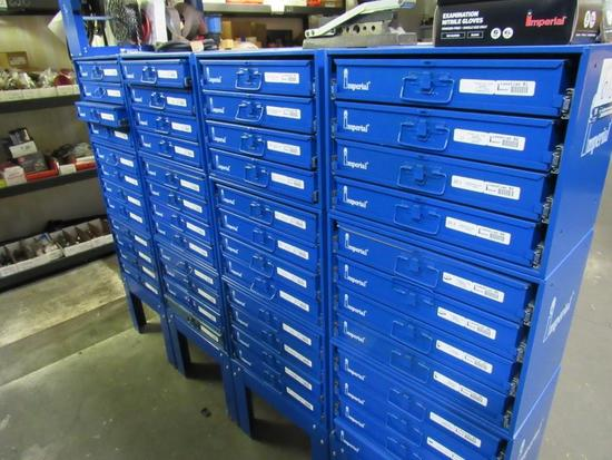 Metal Drawer Cabinets Includes Contents