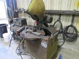 Everett Industries Chop Saw w/ Roller Table
