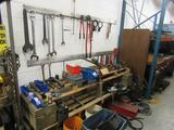 Bolt Cutters, Sockets, Pipe Wrenches
