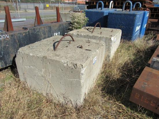 Concrete Block Weights