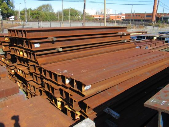 Heavy duty storage beams