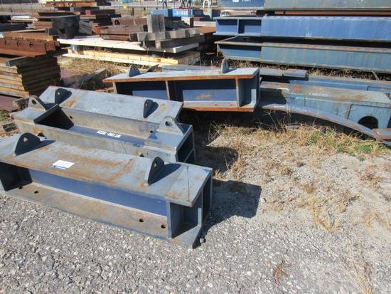 (7) Misc. Support Beams & Steel