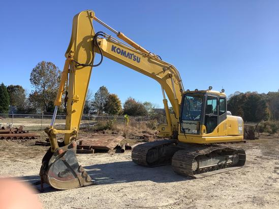 2006 Komatsu PC160 Excavator **PLEASE NOTE:... ITEM CANNOT BE REMOVED UNTIL 12.03.19**