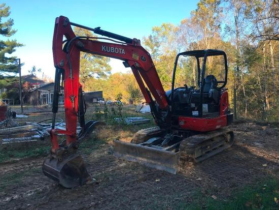 2018 Kubota KX040-4 Eco Plus Mini Excavator