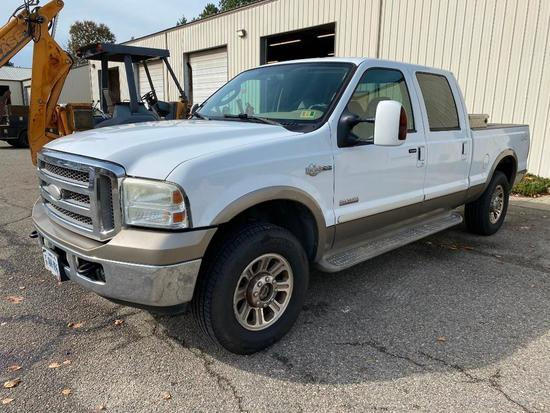 2005 Ford F250 King Ranch Crew Cab PickUp Truck
