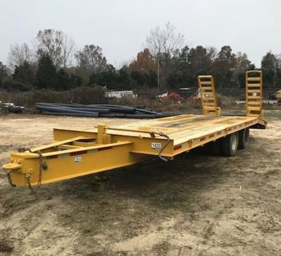 1998 Reid E25 Equipment Trailer