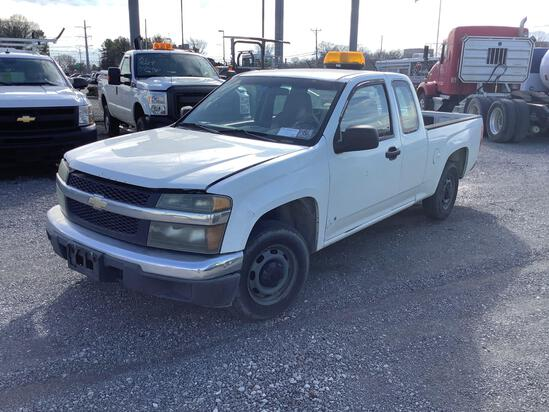2008 CHEVROLET COLORADO EXTENDED CAB PICKUP TRUCK