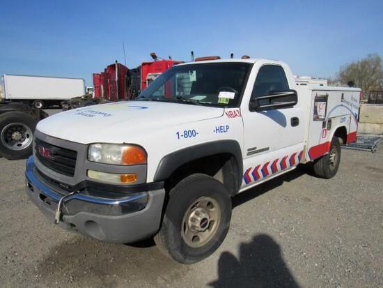 2007 GMC 2500HD Utility Truck