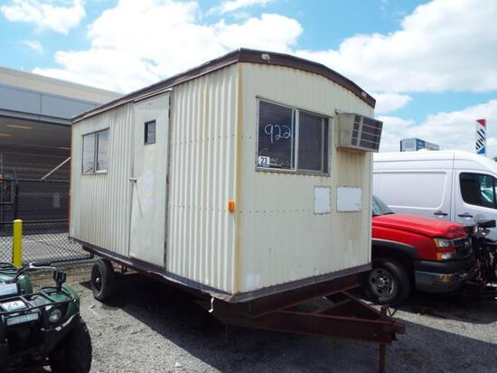 8' x 16' TOW BEHIND OFFICE TRAILER (PARTS ONLY - NO TITLE)