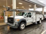 2012 FORD F550 CAR CARRIER TRUCK