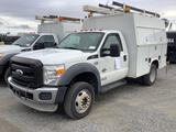 2011 Ford F550 Service Body (Henrico County #9438)