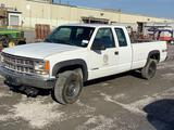 1999 CHEVROLET 2500 4X4 EXTENDED CAB PICKUP TRUCK