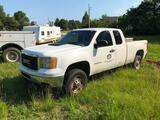 2011 GMC 2500 4X4 Ext. Cab Pickup Truck
