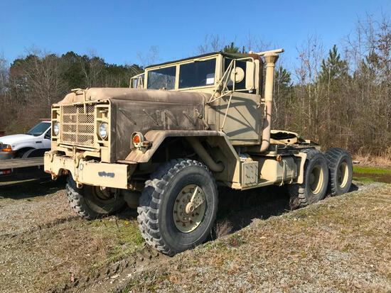 1990 BMY M931A2 6x6 Truck Tractor