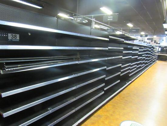 (15) Madix Adjustable Shelving Sections