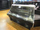 2010 Barker Company BMD4R Heated Display Unit & Corner Shelf