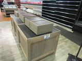 (9) Wooden Display Boxes
