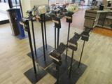 (10) Produce Bag Stands