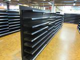 (7) Madix Adjustable Shelving Units (1) Wooden Cabinet