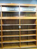 Magnolia River Mfg. Wine Display Cabinet