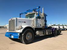 2015...Peterbilt 389 T/A Winch Truck Road Tractor