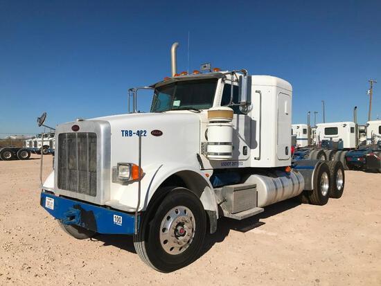 2013 Peterbilt 367 T/A Sleeper Compressor Truck Road Tractor (Unit #TRB-422)