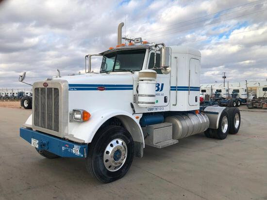 2013 Peterbilt 367 T/A Sleeper Compressor Truck Road Tractor (Unit #TRB-416)