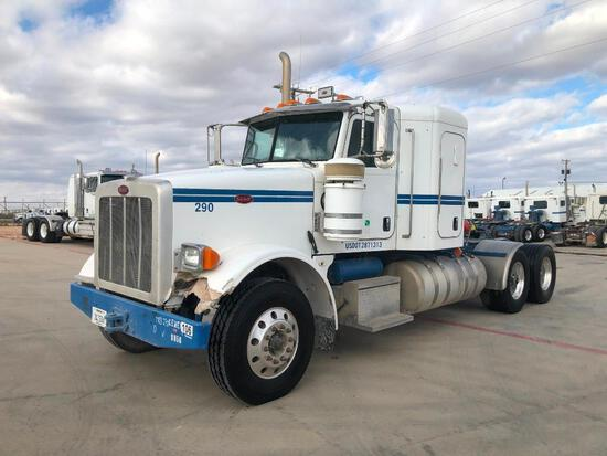 2013 Peterbilt 367 T/A Sleeper Compressor Truck Road Tractor (Unit #TRB-290)