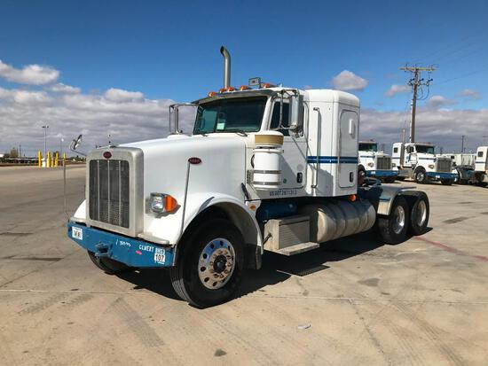 2013 Peterbilt 367 T/A Sleeper Compressor Truck Road Tractor (Unit #TRB-293)