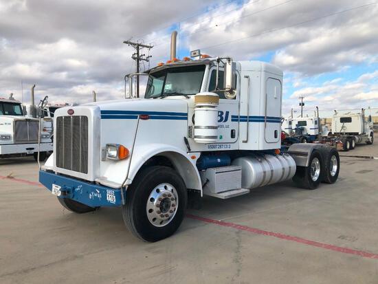 2013 Peterbilt 367 T/A Sleeper Compressor Truck Road Tractor (Unit #TRB-294)