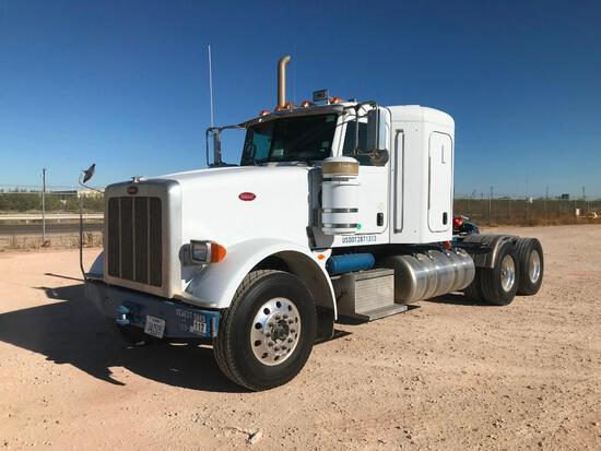2012...Peterbilt 367 T/A Sleeper Compressor Truck Road Tractor (Unit #TRB-098)