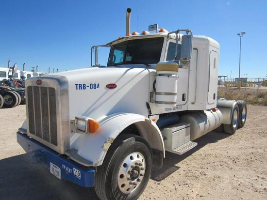 2012 Peterbilt 367 T/A Sleeper Compressor Truck Road Tractor (Unit #TRB-084)