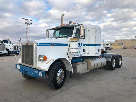 2012 Peterbilt 367 T/A Sleeper Compressor Truck Road Tractor (Unit #TRB-297