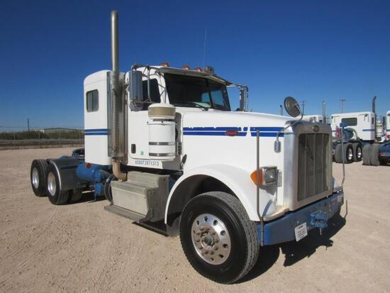 2012 Peterbilt 367 T/A Sleeper Compressor Truck Road Tractor (Unit #TRB-300)