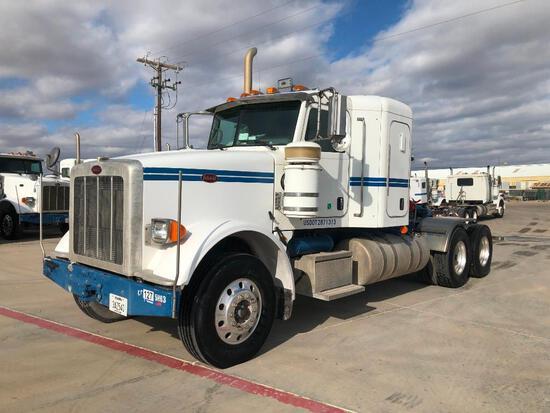 2013 Peterbilt 367 T/A Sleeper Compressor Truck Road Tractor (Unit #TRB-283)