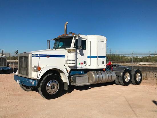 2012...Peterbilt 367 T/A Sleeper Compressor Truck Road Tractor (Unit #TRB-304)