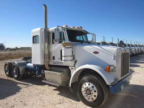2012 Peterbilt 367 T/A Sleeper Compressor Truck Road Tractor (Unit #TRB-284)