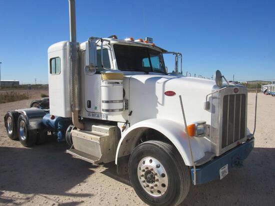 2012 Peterbilt 367 T/A Sleeper Compressor Truck Road Tractor (Unit #TRB-079)