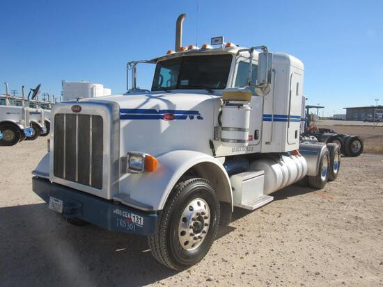 2012 Peterbilt 367 T/A Sleeper Compressor Truck Road Tractor (Unit #TRB-301)