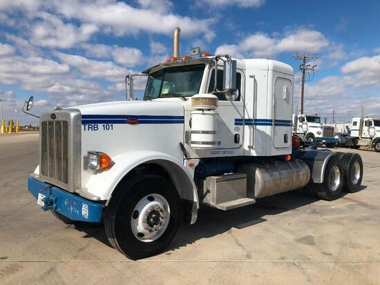 2012...Peterbilt 367 T/A Sleeper Compressor Truck Road Tractor (Unit #TRB-101)