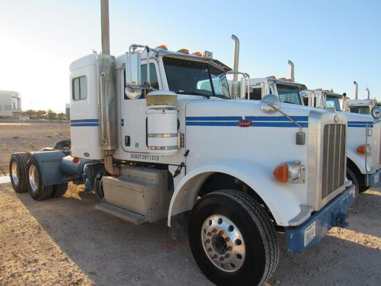2011 Peterbilt 367 T/A Sleeper Compressor Truck Road Tractor (Unit #TRB-269)