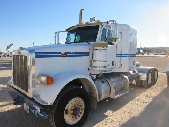 2011 Peterbilt 367 T/A Sleeper Compressor Truck Road Tractor (Unit #TRB-266)